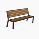 Picture of PW Athletic DuPont Circle Benches with Back