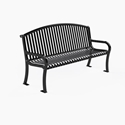 Picture of PW Athletic Jackson Square Arched Back Benches