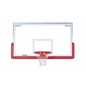 Picture of Porter Center-Strut Rectangular Glass Backboard