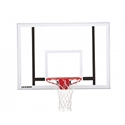 "Picture of Porter 4' Extension Vertical Post 54"" x 39"" Glass Backboard Systems"