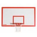 "Picture of Porter 6' Extension Vertical Post 72"" x 42"" Fiberglass Backboard Systems"
