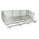 Picture of NRS 5 Row Standard Bleachers - Aluminum Frames