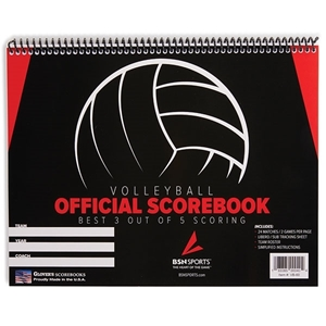 Picture of Glovers Volleyball Scorebook