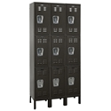 Picture of Hallowell Premium Stock Triple Tier 3-Wide Wardrobe Lockers