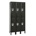 Picture of Hallowell Premium Stock Double Tier 3-Wide Wardrobe Lockers
