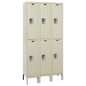 Picture of Hallowell Ready-Built Stock Double Tier 3-Wide Lockers