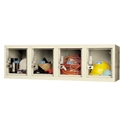 Picture of Hallowell Safety-View Plus Stock 4-Wide Wall Mount