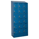 Picture of Hallowell Ready-Built II Stock Six Tier 3-Wide Lockers