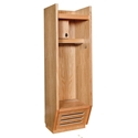 Picture of Hallowell Recruiter Wood Open-Front Sport Lockers