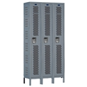 Picture of Hallowell Heavy-Duty Ventilated (HDV) Single Tier 3-Wide Stock Lockers