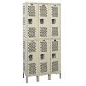Picture of Hallowell Heavy-Duty Ventilated (HDV) Double Tier 1-Wide Stock Lockers