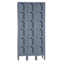 Picture of Hallowell Heavy-Duty Ventilated (HDV) Six Tier 3-Wide Stock Lockers