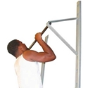 Picture of Champion Barbell Wall Mounted Adjustable Pull Up Bar