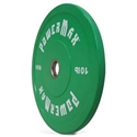 Picture of PowerMax Colored Rubber Bumper Plates