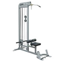 Picture of Champion Barbell Plate Loaded Lat Pull Down  Low Row Machine