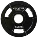 Picture of Champion Barbell Rubber Coated Olympic Grip Plate