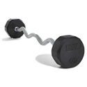 Picture of USA Sports Rubber EZ Curl Barbells