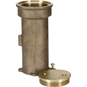 Picture of Paragon Bronze Stanchion Anchor Socket with Threaded Cap