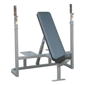 Picture of Champion Barbell Incline Weight Bench with Spotter Platform