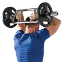 Picture of Champion Barbell Chrome Olympic Style Tricep Bomber