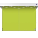Picture of International E-Z UP Inc. 12' Speed Shelter Mid Zip Standard Color Sidewall