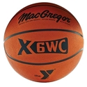 Picture of MacGregor Rubber Basketball with YMCA Logo
