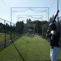 Picture of Jugs #4 Half Batting Cage Net and Frame Kit