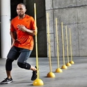 Picture of BSN Indoor/Outdoor Agility Pole System