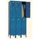 Picture of Penco Double Tier 3 Wide 6 Opening Locker