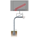 """Picture of Gared Braces and Hardware for 4-1/2"""" Gooseneck Basketball Posts"""