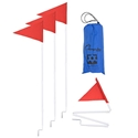 Picture of Champion Sports Collapsible Soccer Corner Flag Set