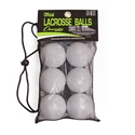 Picture of Champion Sports NOCSAE Lacrosse Ball Set of 6 LBW6SET