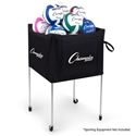 Picture of Champion Sports Folding Volleyball Cart