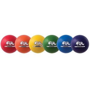 Picture of Champion Sports 6 Inch Rhino Skin Low Bounce Ultra Grip Dodgeball Set