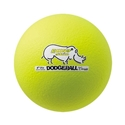 Picture of Champion Sports 6 Inch Rhino Skin Low Bounce Dodgeball - Neon Yellow
