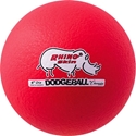 Picture of Champion Sports 6 Inch Rhino Skin Low Bounce Dodgeball - Neon Red