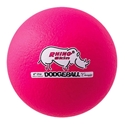 Picture of Champion Sports 6 Inch Rhino Skin Low Bounce Dodgeball - Neon Pink