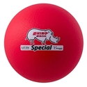 Picture of Champion Sports 8.5 Inch Rhino Skin Special Dodgeball - Neon Red