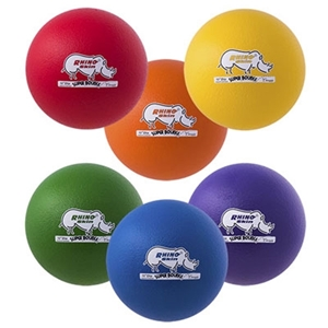 Picture of Champion Sports 10  Inch Rhino Skin High Bounce Super Special Ball Set