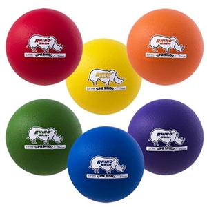 Picture of Champion Sports 8.5 Inch Rhino Skin Super High Bounce Special Ball Set