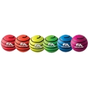 Picture of Champion Sports 6 Inch Rhino Skin Medium Bounce Neon Swirl Ball Set