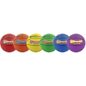 Picture of Champion Sports 8 Inch Rhino Skin Super Squeeze Basketball Set
