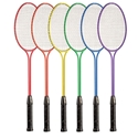 Picture of Champion Sports Tempered Steel Twin Shaft Badminton Racket Set