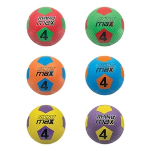 Picture of Champion Sports Rhino 8.5 Inch Max Playground Soccer Ball Set