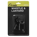 Picture of Champion Sports Plastic Whistle With Lanyard