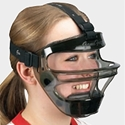Picture of Game Face Medium Youth Mask Smoke with T Harness
